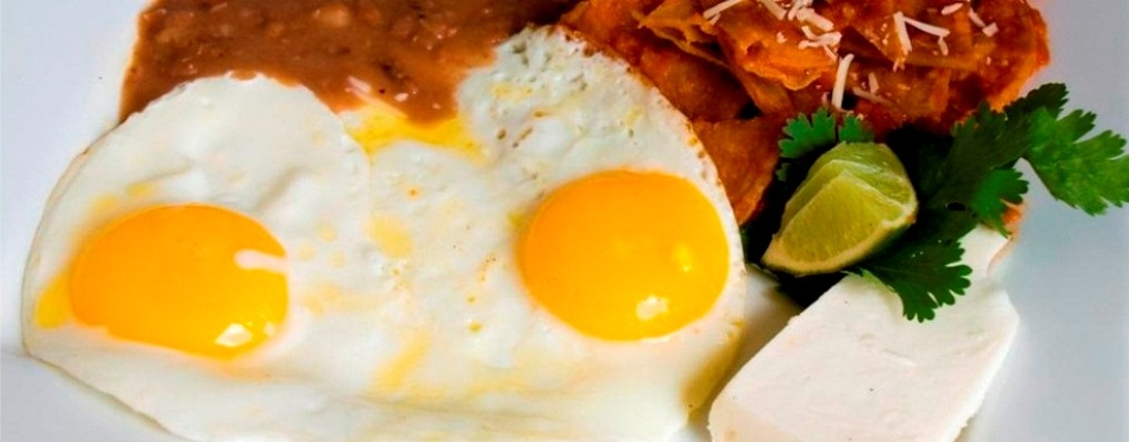All of our Mexican style eggs include a side of rice, beans, queso fresco, pico de gallo and two corn tortillas or a choice of a toasted bread.