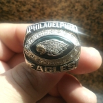 Bruce Perry's Championship Eagles Ring