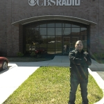 Chef Rodrigo at CBS Radio Station