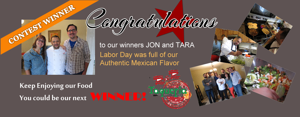 Congratulations to Our Labor Day Contest Winners