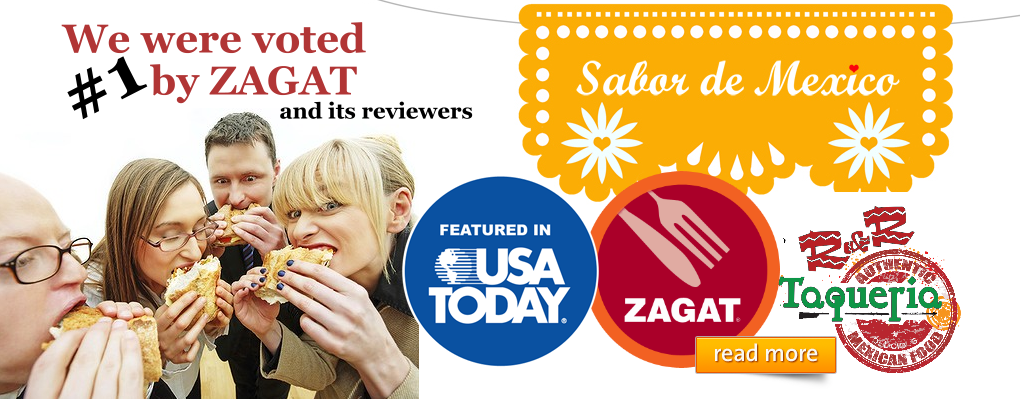 We were rated by Zagat